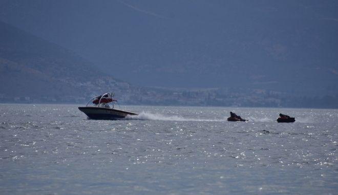 Στιγμιότυπο από την παραλία της Καραθώνας στο Ναύπλιο