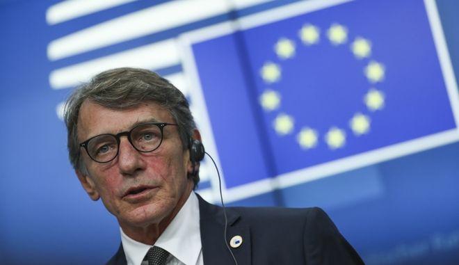 Ο νέος πρόεδρος του Ευρωκοινοβουλίου.