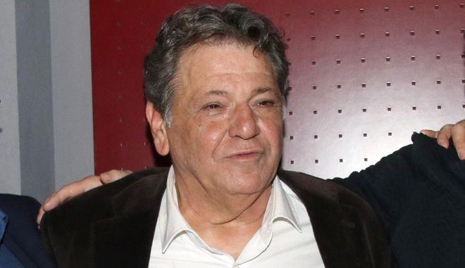 Ο ηθοποιός Γιώργος Παρτσαλάκης
