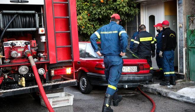Άνδρες της Πυροσβεστικής - Φωτογραφία αρχείου