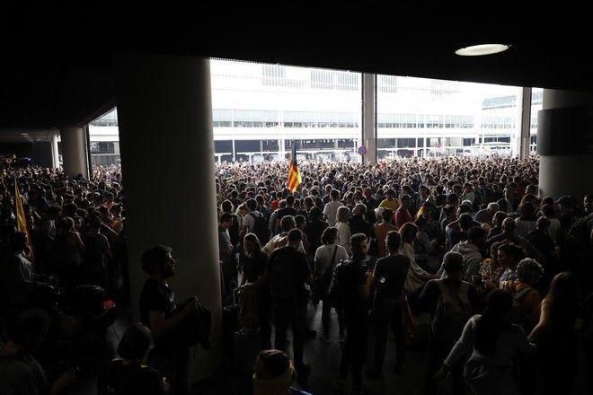 Επεισόδια στο Αεροδρόμιο Βαρκελώνης