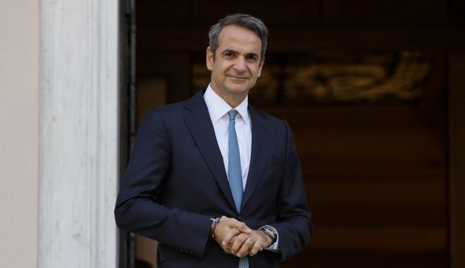 Ο πρωθυπουργός Κυριάκος Μητσοτάκης