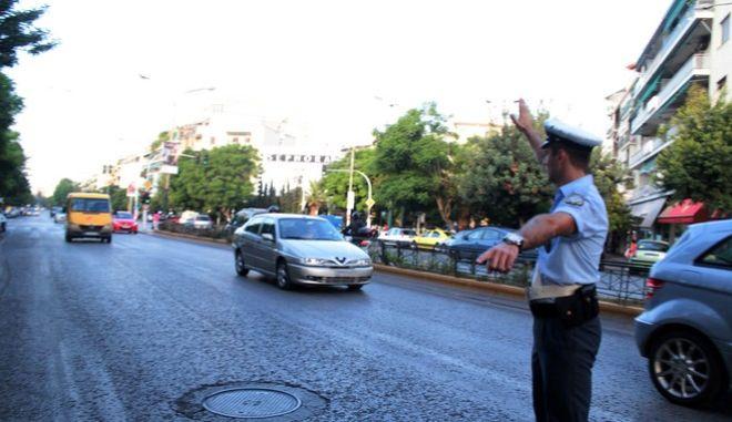 Έλεγχος της Τροχαίας σε σχολικά λεωφορεία σε δρόμο της Αθήνας με αφορμή την έναρξη της σχολικής χρονιάς την Δευτέρα 12 Σεπτεμβρίου 2016. (EUROKINISSI/ΣΤΕΛΙΟΣ ΣΤΕΦΑΝΟΥ)