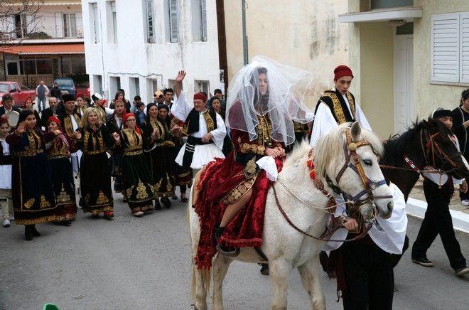 Το δρώμενο του αρβανίτικου γάμου