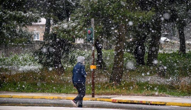 Καιρός: Χιόνια την Αττική