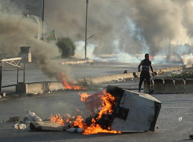 Διαδηλωτές στο Ιράκ