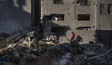 Συντρίμμια στη Γάζα