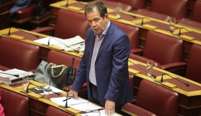 ΑΘΗΝΑ-ΒΟΥΛΗ-Συνεδρίαση των τεσσάρων αρμόδιων Επιτροπών της Βουλής, η συζήτηση του δεύτερου νομοσχεδίου με τα προαπαιτούμενα μέτρα,μηνονίου3//  Ο ΔΗΜΗΤΡΗΣ ΔΗΜΗΤΡΙΑΔΗΣ ΒΟΥΛΕΥΤΗΣ ΣΥΡΙΖΑ.(EUROKINISSI-ΠΑΝΑΓΟΠΟΥΛΟΣ ΓΙΑΝΝΗΣ)