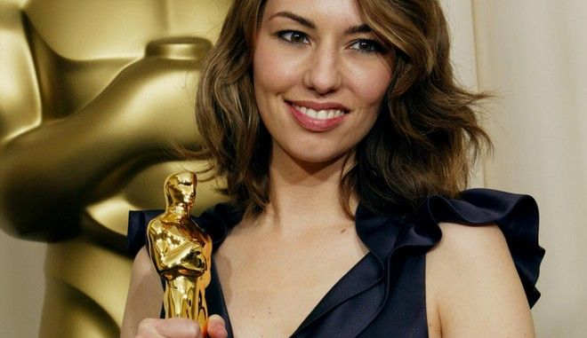 HOLLYWOOD, CA - FEBRUARY 29:  Director Sofia Coppola poses backstage with her Oscar for Writing (Original Screenplay) during the 76th Annual Academy Awards at the Kodak Theater on February 29, 2004 in Hollywood, California.  (Photo by Frederick M. Brown/Getty Images)