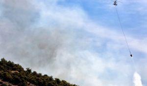Υπό μερικό έλεγχο οι περισσότερες πυρκαγιές. Καλύτερη η εικόνα σε Αρχαία Ολυμπία και Δράμα