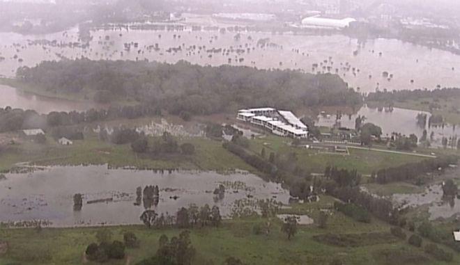 Πλημμυρισμένες εκτάσεις στην Αυστραλία.