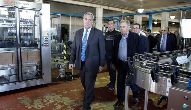Επίσκεψη του υπουργού Αγροτικής Ανάπτυξης και Τροφίμων Μάκη Βορίδη στην Λακωνία