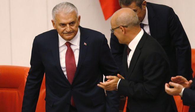 Νέος πρόεδρος του κοινοβουλίου ο Μπιναλί Γιλντιρίμ