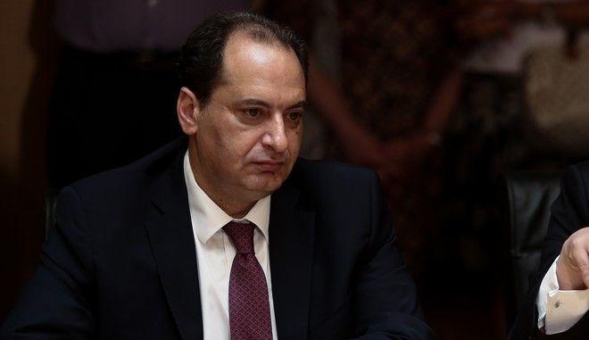 Ο  τομεάρχης Εσωτερικών του ΣΥΡΙΖΑ Χρήστος Σπίρτζης