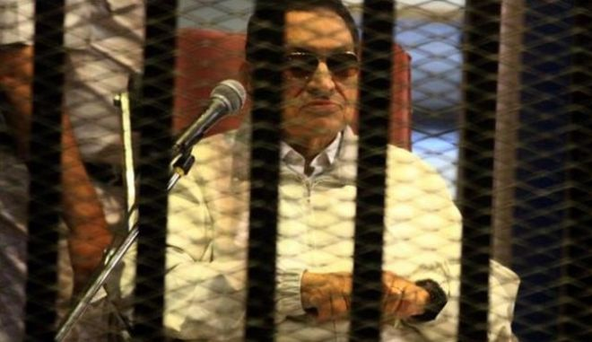 Αίγυπτος: Έφεση άσκησε η εισαγγελία κατά της απόφασης απαλλαγής του Μουμπάρακ