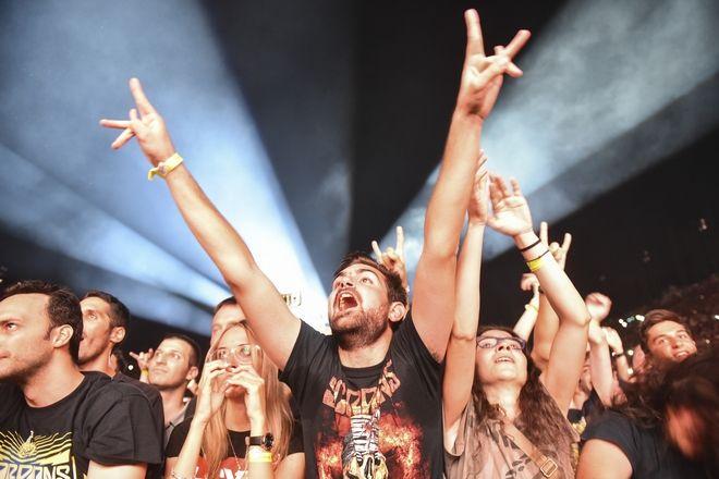 40.000 φίλοι της ροκ κατέκλυσαν το Καλλιμάρμαρο