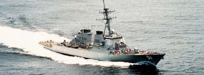 USS Argleigh Burke