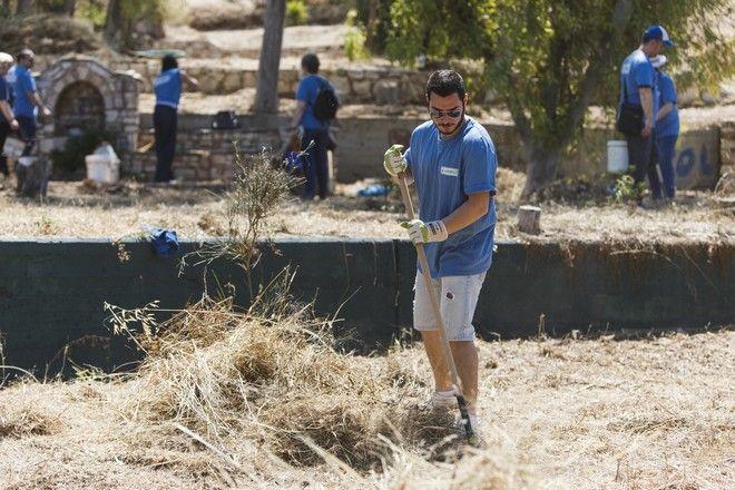 Ο Υμηττός μεταμορφώθηκε χάρη στην 9η ημέρα Εθελοντισμού ΑΒ