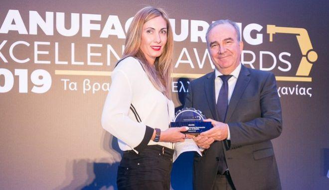Τιμητική Διάκριση για τον ΑΠΣΙ «Η ΠΙΝΔΟΣ» στα Manufacturing Excellence Awards 2019