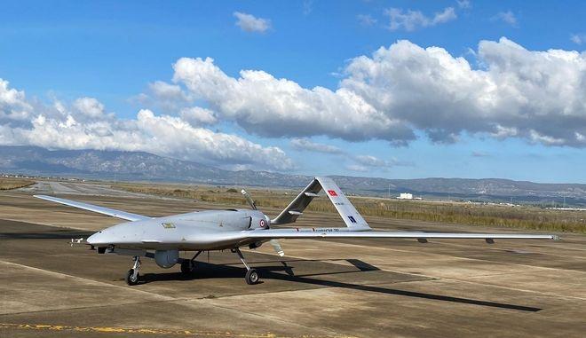 Τουρκικό drone στα κατεχόμενα
