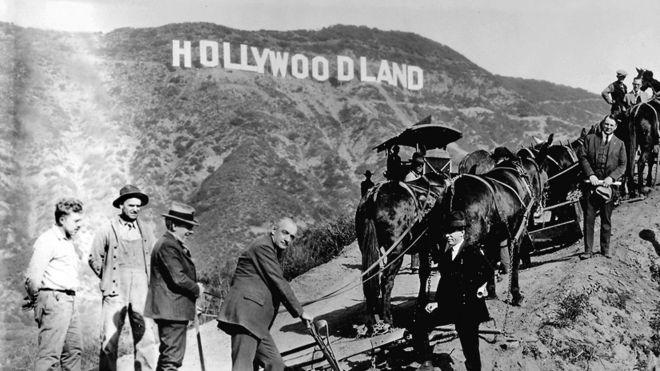 Το Hollywood έγινε 'Hollyweed'