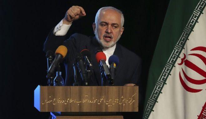 Ο υπουργός Εξωτερικών του Ιράν, Μοχάμεντ Τζαβάν Ζαρίφ