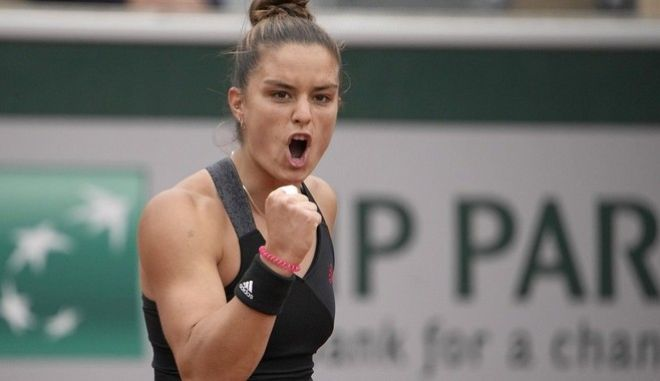 Μαγική Σάκκαρη, για πρώτη φορά στον 4ο γύρο του Roland Garros