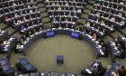 Το ευρωκοινοβούλιο στο Στρασβούργο. Ψηφορορία για κυρώσεις κατά της Ουγγαρίας