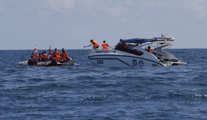 Η επιχείρηση διάσωσης στο Πουκέτ