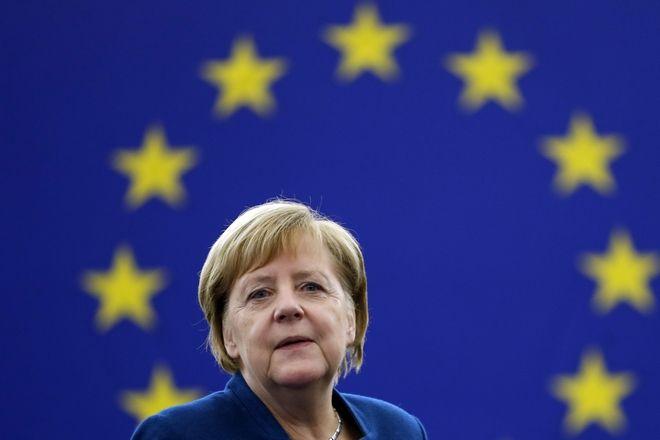 Η καγκελάριος της Γερμανίας, Άγγελλα Μέρκελ