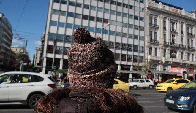 Χαμηλές θερμοκρασίες στην Αθήνα την Τετάρτη 12 Δεκεμβρίου 2016. (EUROKINISSI/ΣΤΕΛΙΟΣ ΣΤΕΦΑΝΟΥ)