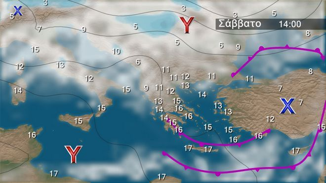 Χριστούγεννα: Έρχεται ψυχρό μέτωπο - Κρύο, βροχές και χιόνια
