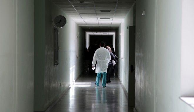 Διάδρομος στο νοσοκομείο