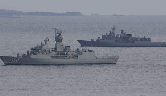 Τουρκικά πλοία εν πλω