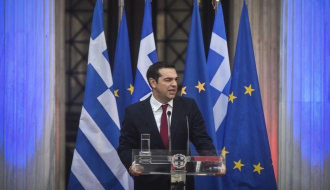 Η ομιλία του Τσίπρα στο Ζάππειο στις ΚΟ ΣΥΡΙΖΑ και ΑΝΕΛ