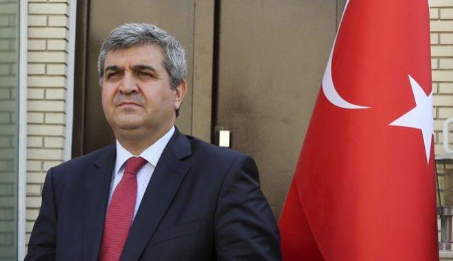 Φαρούκ Καϊμακτσί, πρέσβης της Τουρκίας στην ΕΕ