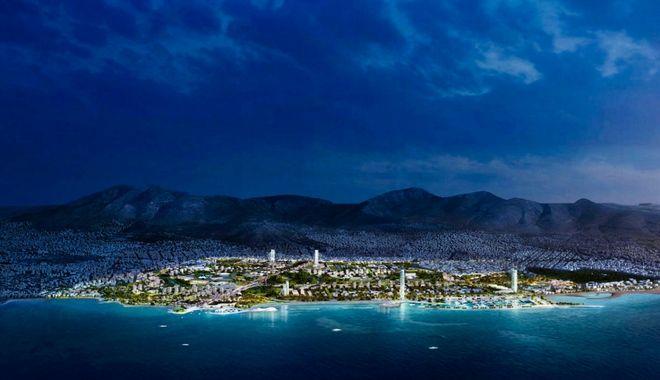 Μακέτα για το μητροπολιτικό πάρκο στο Ελληνικό