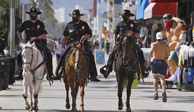Αστυνομία στο Λος Άντζελες