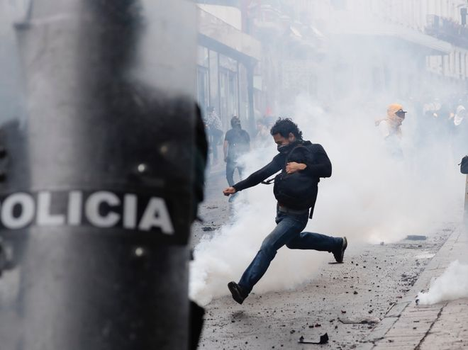 Διαδηλώσεις στον Ισημερινό