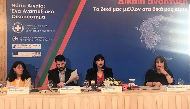Σημαντικά στοιχεία παρουσίασε η υπουργός Τουρισμού, Έλενα Κουντουρά