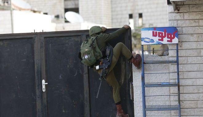 Ισραηλινός στρατιώτης - φωτό αρχείου