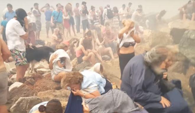 Νέο βίντεο από την ημέρα της τραγωδίας στο Μάτι