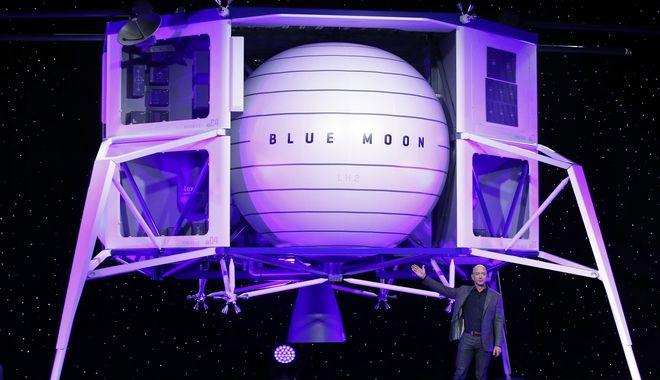 Ο Τζεφ Μπέζος προσφέρει 2 δισ. δολάρια στη NASA με το βλέμμα στη Σελήνη