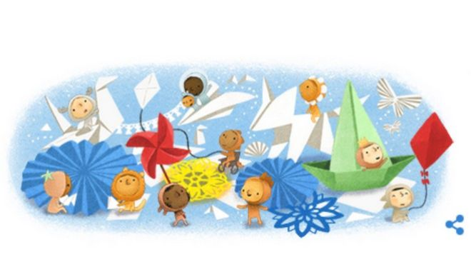 Ημέρα του Παιδιού: Το Google Doodle αφιερωμένο στα παιδιά όλου του κόσμου