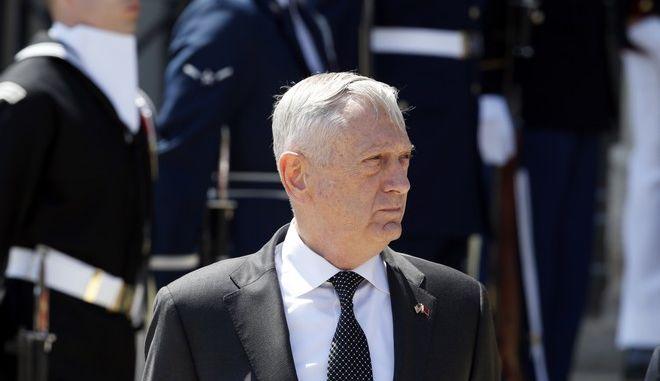 Ο υπουργός Άμυνας των ΗΠΑ, Τζιμ Μάτις