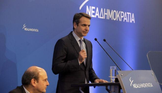 Συνεδρίαση της Πολιτικής Επιτροπής της Νέας Δημοκρατίας την Τετάρτη 25 Ιανουαρίου 2017. (EUROKINISSI/ΓΙΩΡΓΟΣ ΚΟΝΤΑΡΙΝΗΣ)