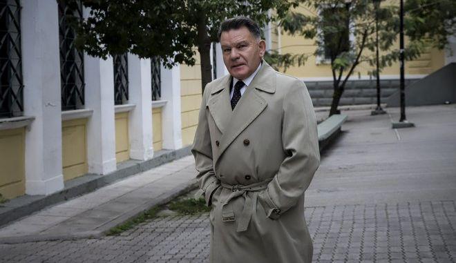 Ο δικηγόρος Αλέξης Κούγιας στα δικαστήρια της οδού Ευελπίδων
