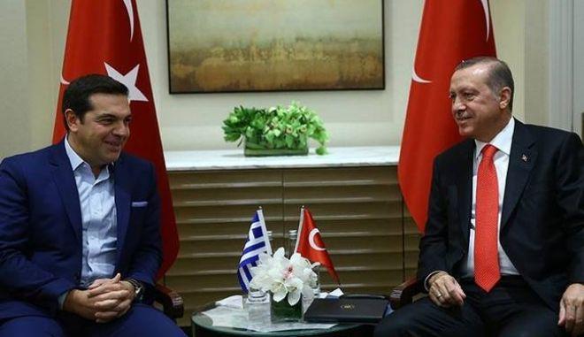 Αμφίβολη η μετάβαση Τσίπρα - Ερντογάν στη Γενεύη