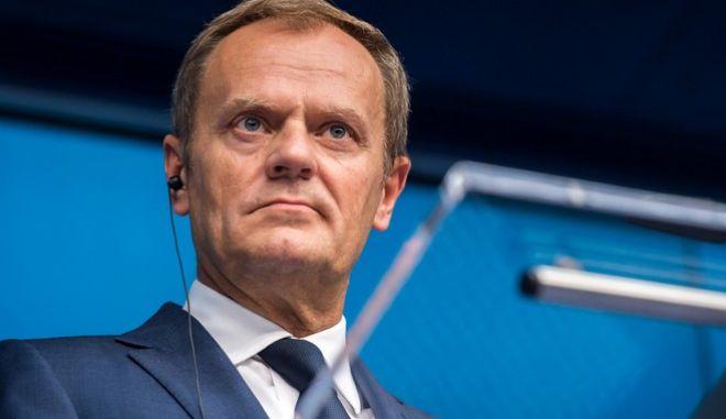 Τουσκ: Δεν υπάρχει καμία εγγύηση για συμφωνία ΕΕ-Βρετανίας