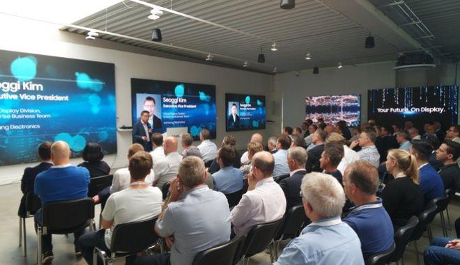 Samsung Discovery Day 2019 και MagicINFO Day: Οι καινοτομίες ψηφιακών λύσεων της εταιρίας στο Samsung European Showroom στη Φρανκφούρτη